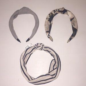 Bundle of Headbands - Anthropologie (2) + Loft (1)